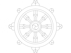 dharmawheel Free Gcode .TAP File for CNC