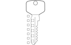 key rack Free Gcode .TAP File for CNC