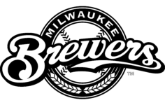 milwaukee brewers logo Free Gcode .TAP File for CNC