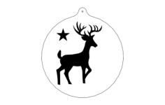 deer-ornFree Gcode .TAP File for CNC