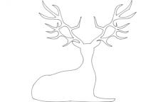 deerFree Gcode .TAP File for CNC
