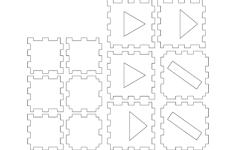 laser cube 2 layer basic Free Gcode .TAP File for CNC