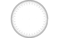 360 wheel Free Gcode .TAP File for CNC