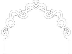 kravat bawi 2 Free Gcode .TAP File for CNC