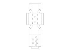 cardboard box Free Gcode .TAP File for CNC