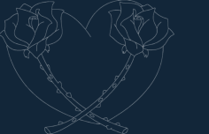 heart roses Free Gcode .TAP File for CNC