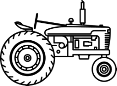 tractor Free Gcode .TAP File for CNC