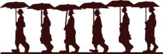 umbrella men Free Gcode .TAP File for CNC