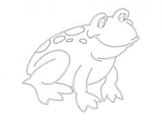 frog Free Gcode .TAP File for CNC