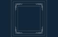 frame Free Gcode .TAP File for CNC