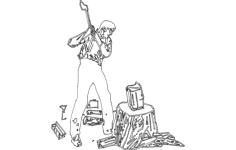 ax men 2 Free Gcode .TAP File for CNC