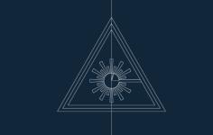 laser warning symbol Free Gcode .TAP File for CNC