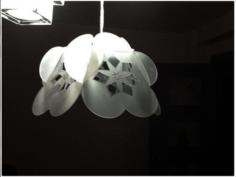 flower lamp  Free Gcode .TAP File for CNC