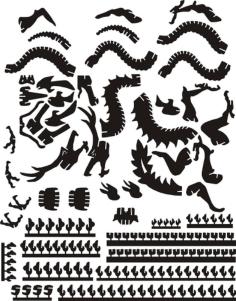dragon Free Gcode .TAP File for CNC