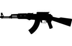 gun 4 Free Gcode .TAP File for CNC