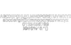 laser font Free Gcode .TAP File for CNC