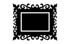 quadro trabalhado Free Gcode .TAP File for CNC
