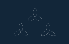 flower template Free Gcode .TAP File for CNC