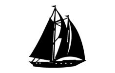 schooner Free Gcode .TAP File for CNC