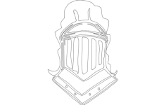 knight helmet Free Gcode .TAP File for CNC