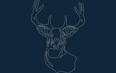 deer best Free Gcode .TAP File for CNC