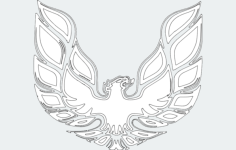 firebird 00 1 Free Gcode .TAP File for CNC