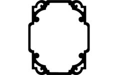 decor 3 Free Gcode .TAP File for CNC