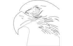eagle head Free Gcode .TAP File for CNC