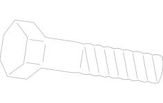 bolt Free Gcode .TAP File for CNC