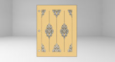 victorian vector Free Gcode .TAP File for CNC