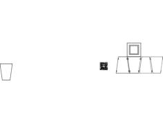 cachepô Free Gcode .TAP File for CNC