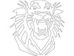 tiger Free Gcode .TAP File for CNC