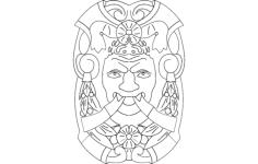 artwork 1 Free Gcode .TAP File for CNC