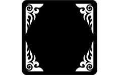 frame- 1 Free Gcode .TAP File for CNC