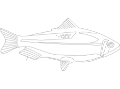 fishs Free Gcode .TAP File for CNC