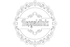 hosgeld n Free Gcode .TAP File for CNC