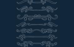 detail art Free Gcode .TAP File for CNC
