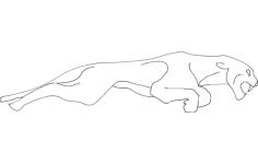 jaguar Free Gcode .TAP File for CNC