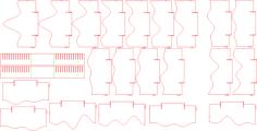 3d landschaft Free Gcode .TAP File for CNC