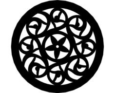 rose pattern 8 Free Gcode .TAP File for CNC