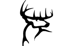 deer trace Free Gcode .TAP File for CNC