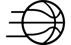 basketball Free Gcode .TAP File for CNC