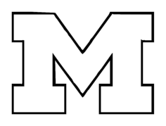 university of michigan Free Gcode .TAP File for CNC