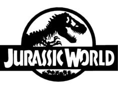 jurassic world Free Gcode .TAP File for CNC