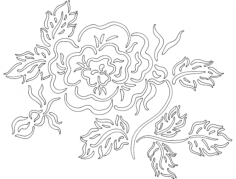 flower 2 Free Gcode .TAP File for CNC