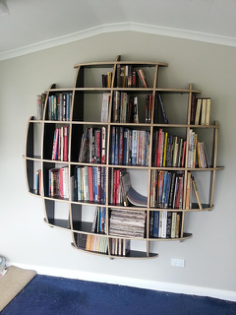 spherical bookshelves Free Gcode .TAP File for CNC