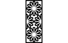 islamic pattern Free Gcode .TAP File for CNC