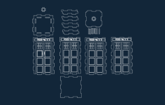 tardis layout Free Gcode .TAP File for CNC