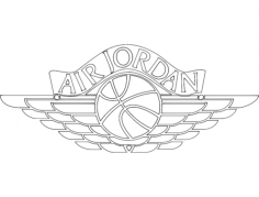 air jordan 2 Free Gcode .TAP File for CNC