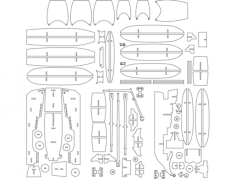 pirate ship l 6mm Free Gcode .TAP File for CNC